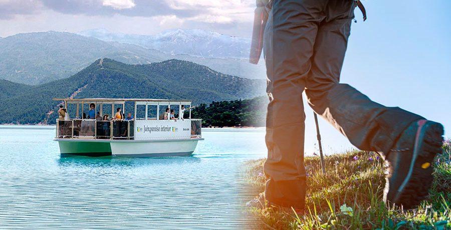 Paseo en barco solar + Ruta a pie