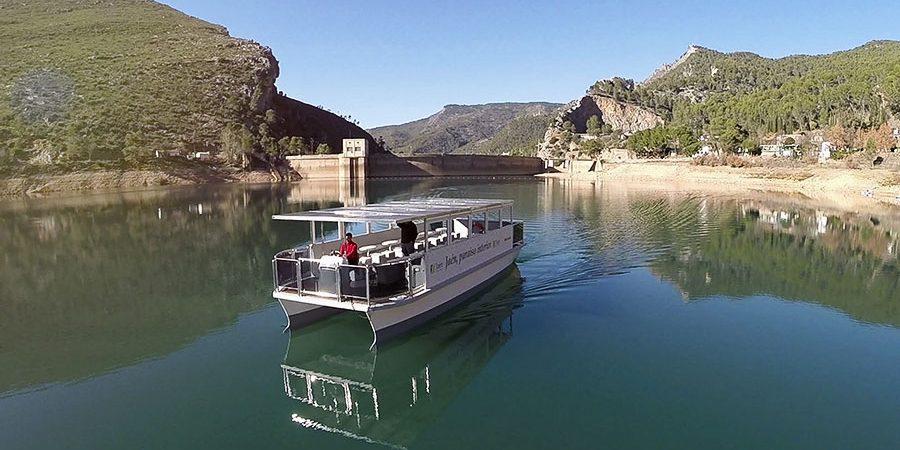 Ruta en Barco solar